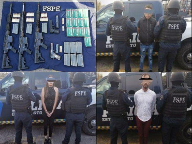 Peligrosa banda delictiva fue capturada y puesta bajo las rejas, en León, Guanajuato
